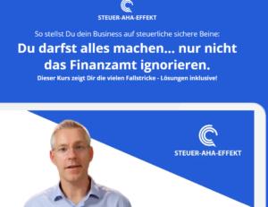 Ignoriere nicht das Finanzamt